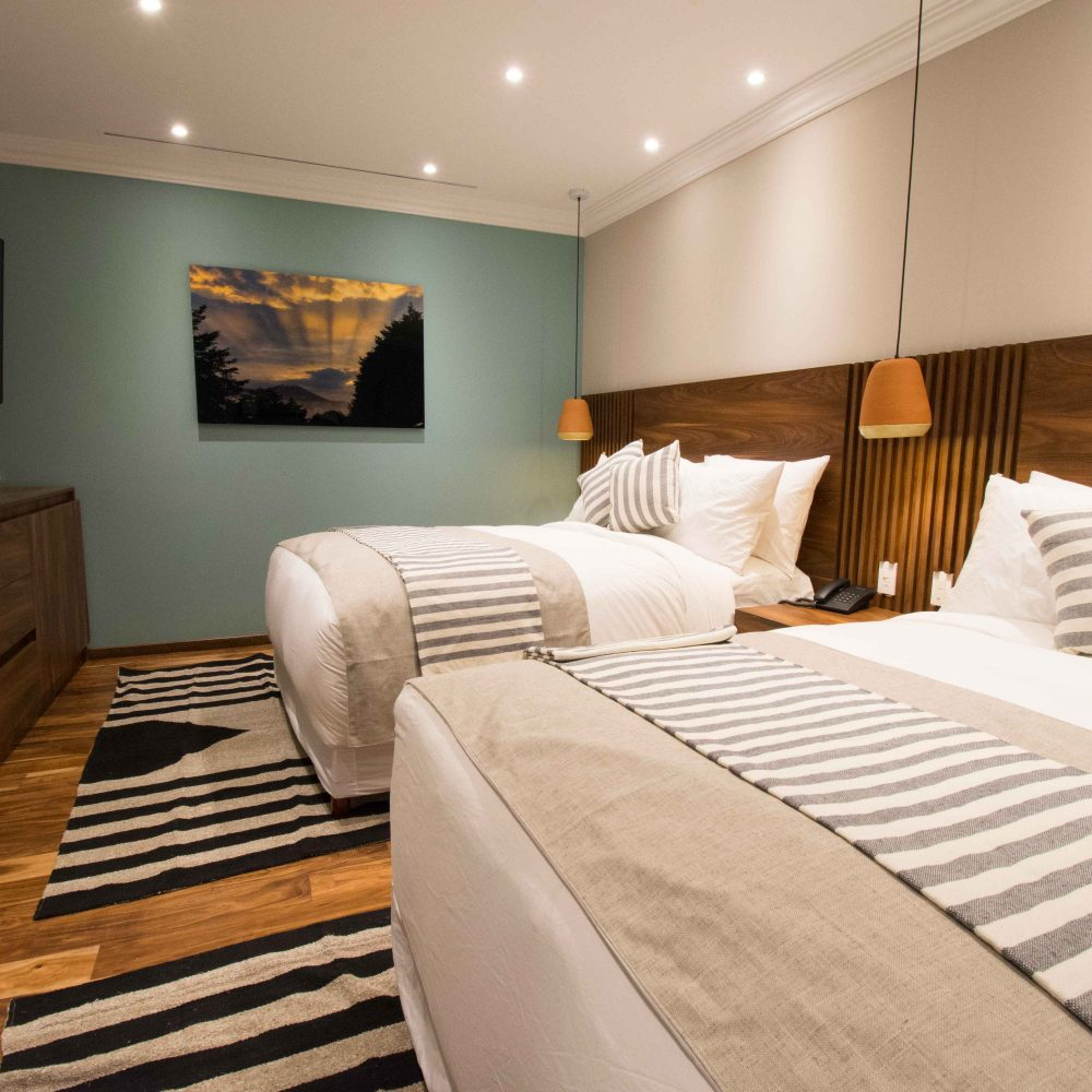 Suites with double beds