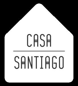 Casa Santiago Hotel Boutique Hotel Queretaro - Logo Blanco